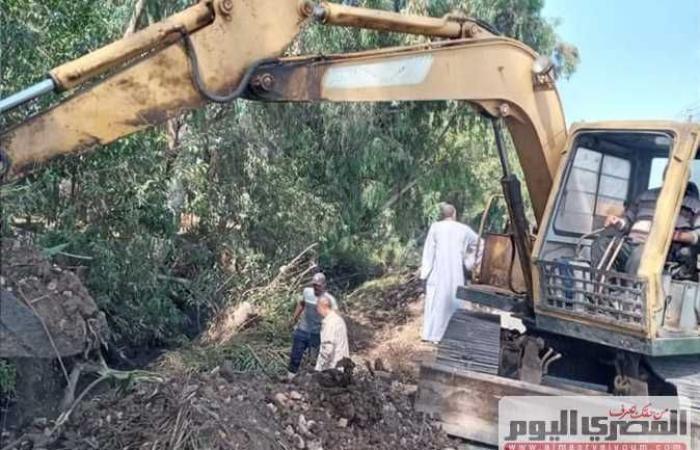 المصري اليوم - اخبار مصر- رئيس مدينة دسوق تتابع إصلاح خطوط الصرف الصحي في محلة دياي موجز نيوز