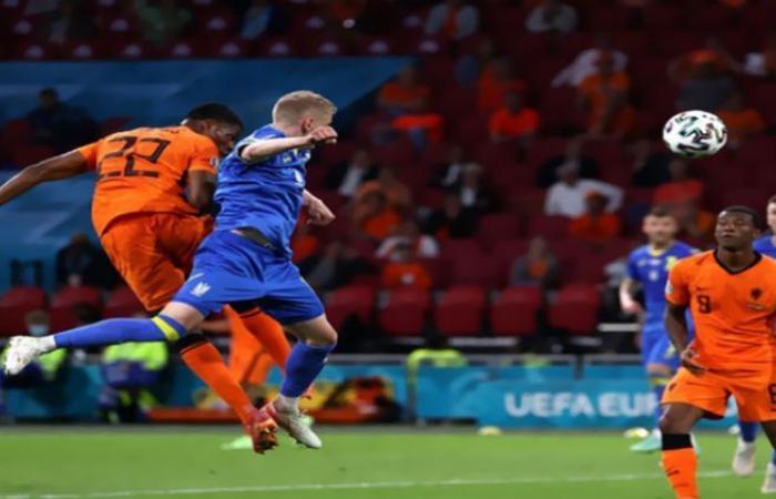 الوفد رياضة - منتخب هولندا يسجل الهدف الثالث ضد أوكرانيا في يورو 2020 موجز نيوز