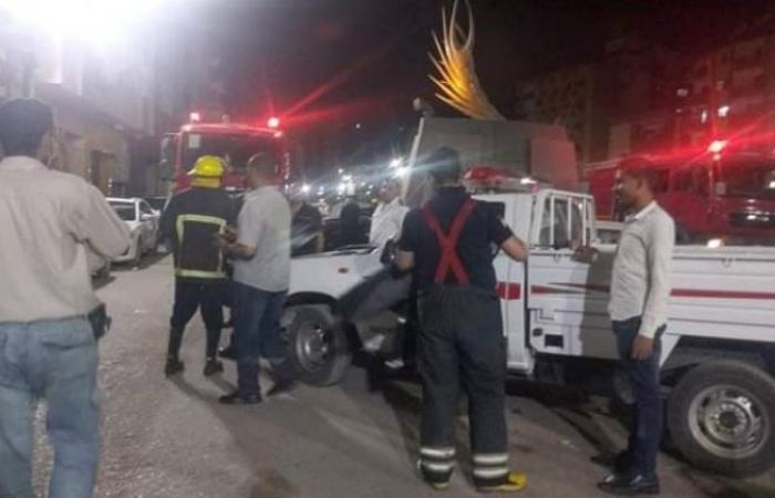 الوفد -الحوادث - الحماية المدنية تسيطر على حريق نشب في إحدى الشقق السكنية بأسيوط موجز نيوز