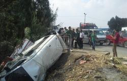 #المصري اليوم -#حوادث - غرق سيدتين وإصابة طفلتين وسائق في انقلاب «ميكروباص» بترعة الإسماعيلية موجز نيوز